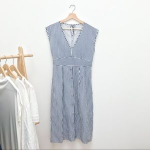 Striped Summer Sun Dress NWOT